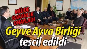 Geyve Ayva Üreticileri Birliği tescil edildi