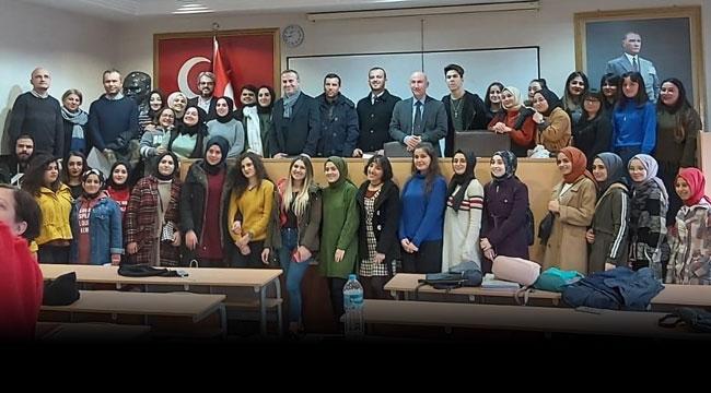 SATSO'dan GMYO öğrencilerine seminer