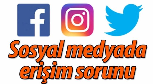 Sosyal medyada erişim sorunu