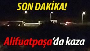 Geyve Alifuatpaşa'da kaza