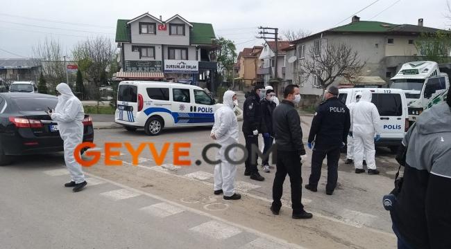 Sakarya'da bir sokak karantinaya alındı
