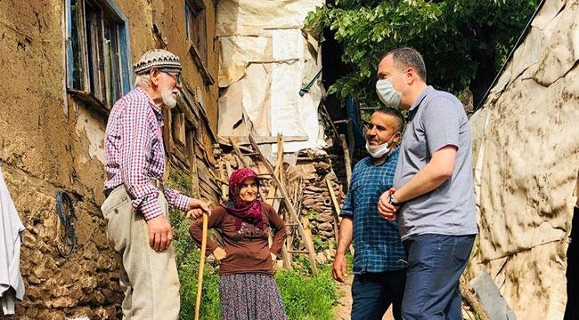 Başkan Kaya, mahalle ziyaretlerini sürdürüyor