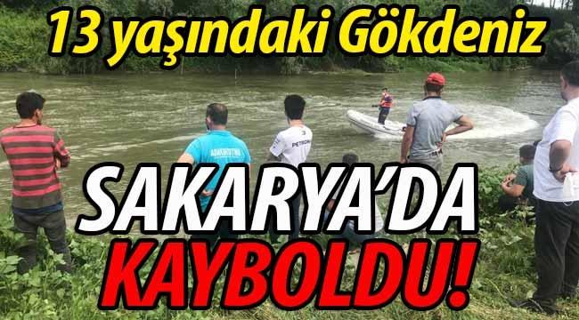 13 yaşındaki Gökdeniz, Sakarya Nehri'nde kayboldu!