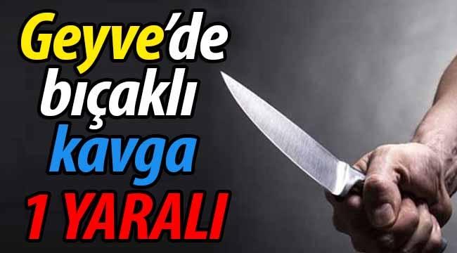 Geyve Eşme'de bıçaklı kavga: 1 yaralı