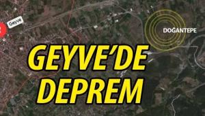 SON DAKİKA! Geyve'de deprem