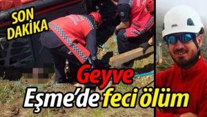 SON DAKİKA! Geyve Eşme'de feci ölüm!