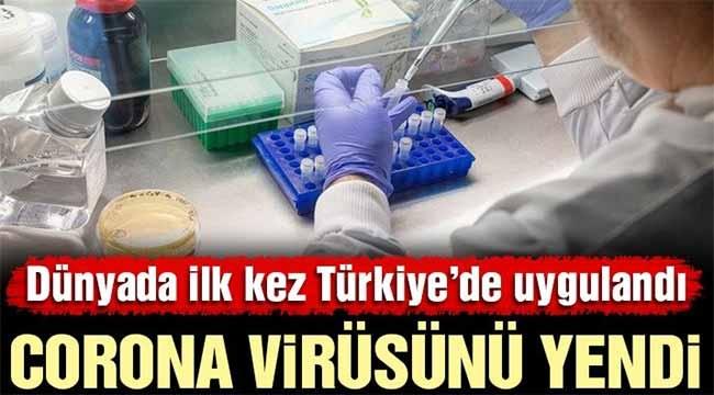 Türk doktorlardan büyük corona başarısı!