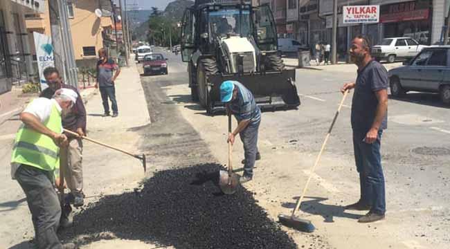 Geyve Tepecikler'de asfalt kaplama