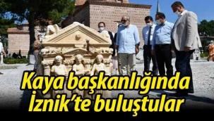 Murat Kaya Başkanlığında İznik'te toplandılar