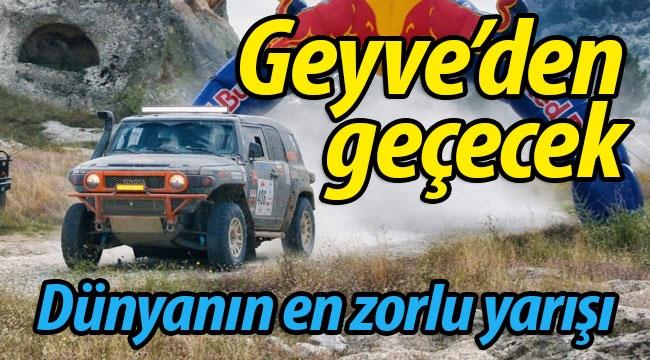 Dünyanın en zorlu yarışı Geyve'den geçecek!
