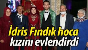İdris Fındık hoca kızını evlendirdi