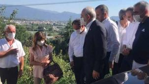 Kılıçdaroğlu taziye için Sakarya'ya geldi
