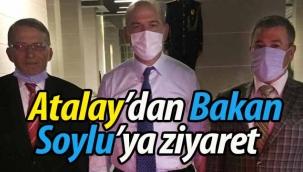 Erol Atalay'dan Bakan Soylu'ya ziyaret