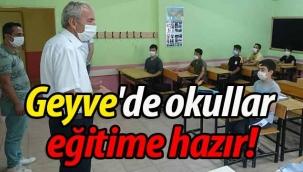 Geyve'de okullar eğitime hazır!