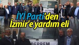 İYİ Parti'den İzmir'e yardım eli