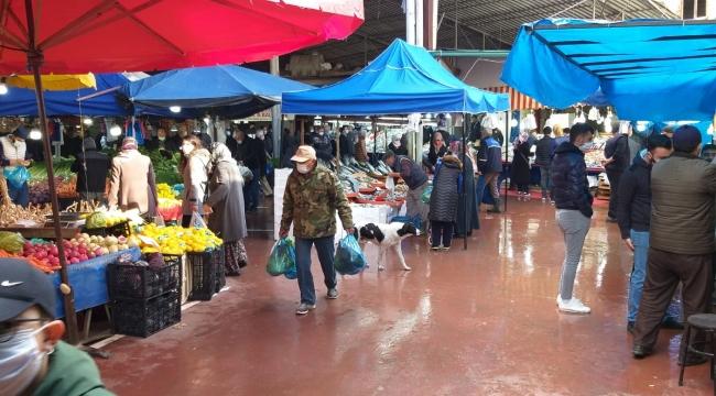 Geyve pazarından manzaralar