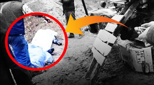 Mantar yolunda facia gibi kaza: 2 ölü