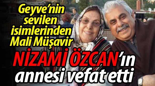 Nizami Özcan'ın anne acısı