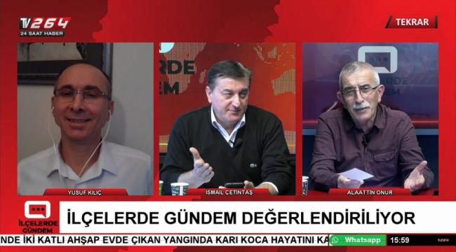 Geyve'nin gündemi TV264'te ele alınıyor