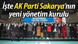 İşte Sakarya'da AK Parti'yi 2023'e taşıyacak isimler