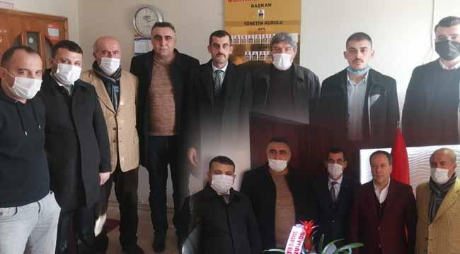 Ülkü Ocakları İl Başkanı Sofuoğlu Geyve'deydi