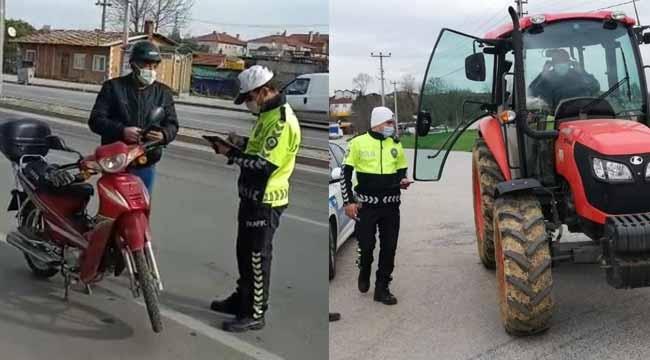 Motosiklet ve traktör uygulaması