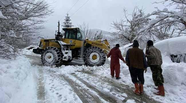 Sakarya'da 42 grup yolu ulaşıma açıldı