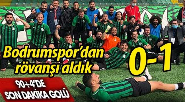 Sakaryaspor, Bodrumspor'dan rövanşı aldı: 0-1