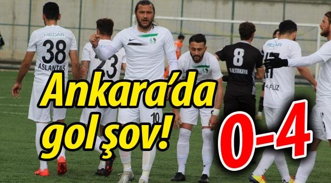 Sakaryaspor'dan Ankara'da gol şov: 0-4