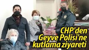 CHP'den Geyve Polisi'ne kutlama ziyareti