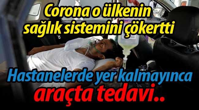 Corona o ülkenin sağlık sistemini çökertti