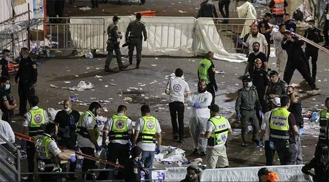 İsrail'de sahne çöktü: 44 ölü 100'den fazla yaralı