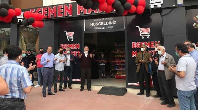 Egemen Market açıldı