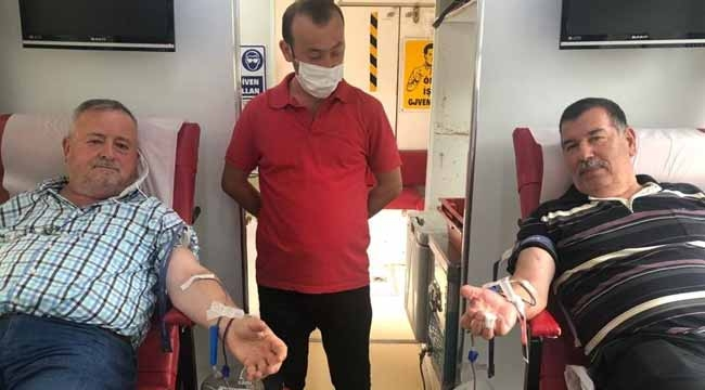 Geyve'nin gönüllü kan bağışçıları