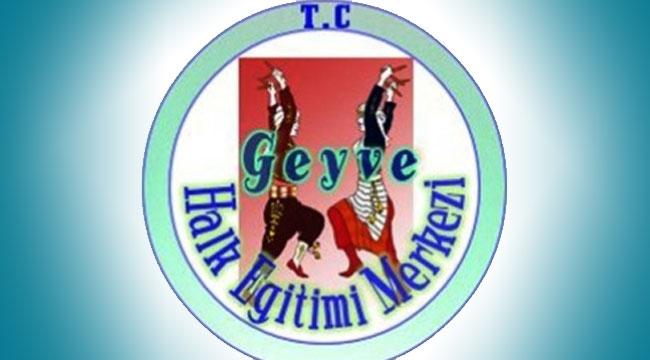 Geyve Halk Eğitim'de Usta Öğretici geçici listeleri açıklandı