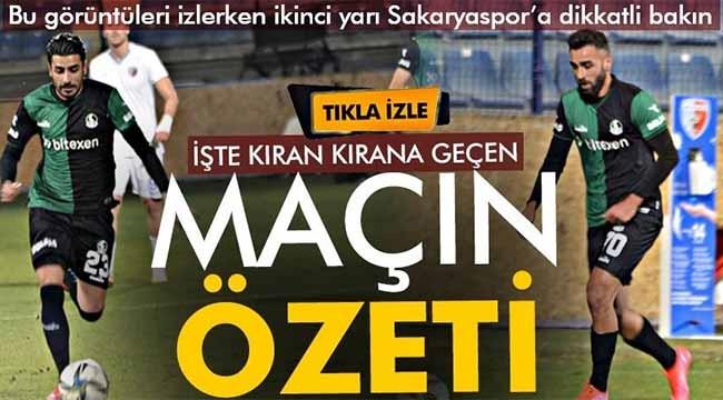 Ankaraspor- Sakaryaspor maçının özeti!